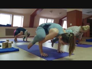 Занятие-интенсив для новичков. Школа йоги Прана в Гомеле