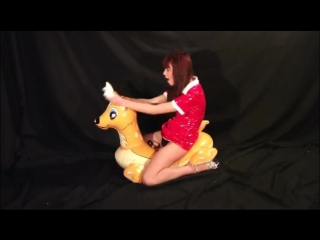 Riding lil deer