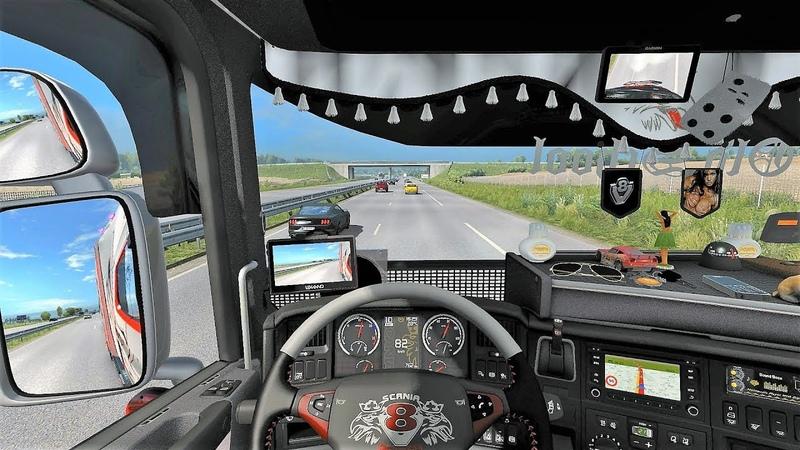 ETS2 (v1.31) - Scania RJL [Updated] Tuning V8 Sound Skin Interior | SG Limited Edition