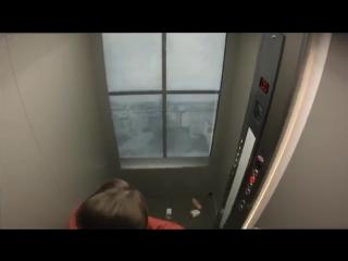 Elevator in the sky - Prank