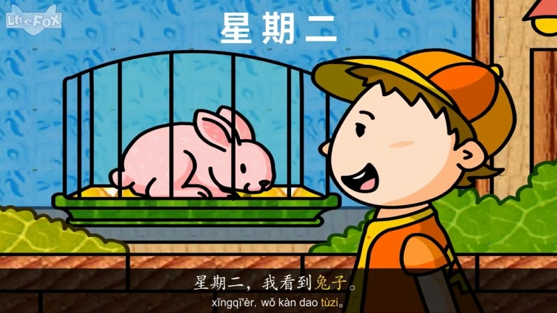 My Pet (我的宠物) - Level 2 - Chinese - By Little Fox