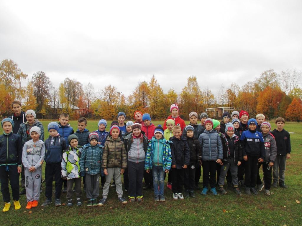 Осенний кросс лыжников