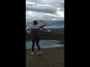 У кратера вулкана Исландия 🇮🇸