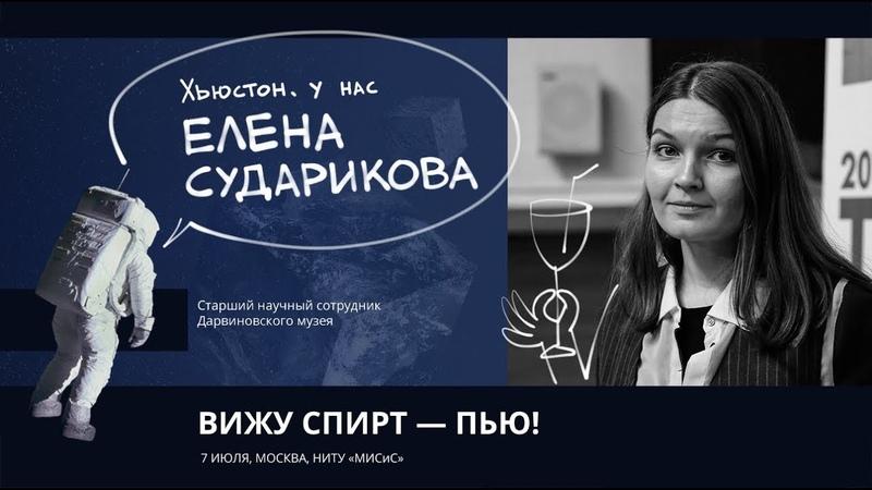 Елена Сударикова Вижу спирт пью