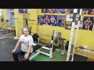 Герман Барабанов жим 135 кг
