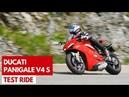 Ducati Panigale V4 S Test ride della prima sportiva con motore V4 di Borgo Panigale
