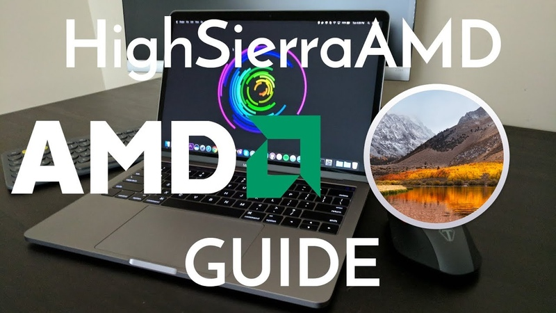 The Easiest Way to Install macOS High Sierra on an AMD Computer