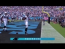 Cam Newton runs for a TOUCHDOWN ( Dallas Cowboys vs Carolina Panthers )