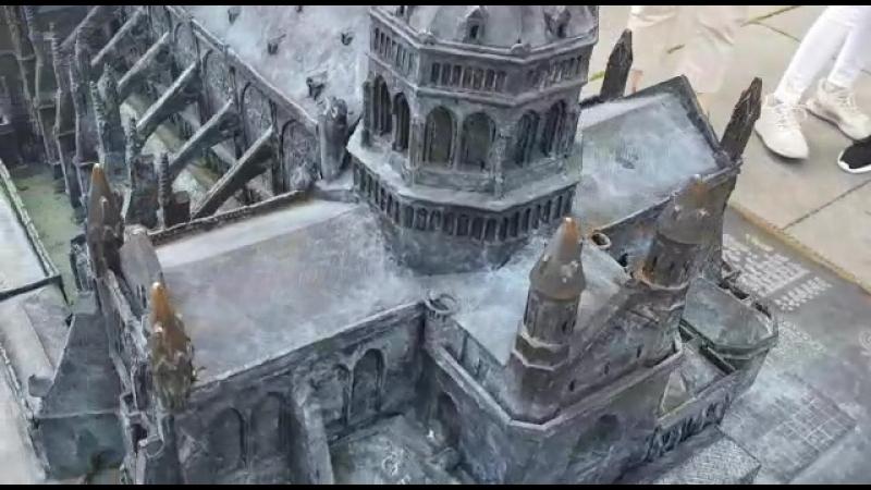 Миниатюрная копия Страсбургского собора