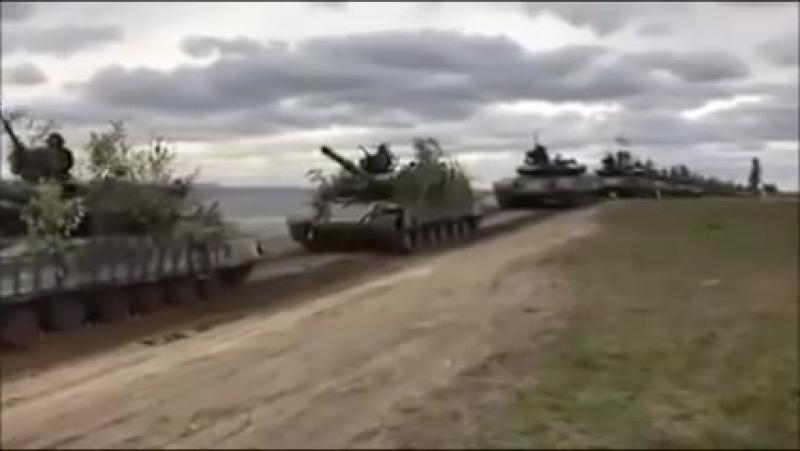 На Донецк едут наши танки
