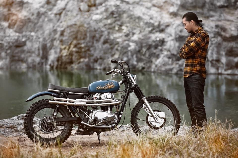 Mark Motorcycles: скрэмблер Kawasaki W650