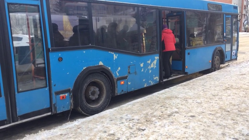 Разгон автобуса АС 812 86