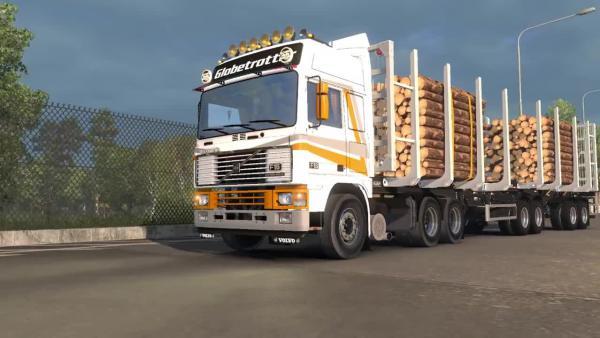 Euro Truck Simulator 2 - Обзор лесовоза *Metalesp*
