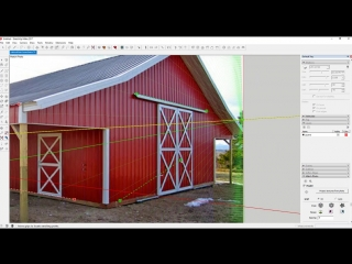 Creating a Model from a Photo with PhotoMatch in SketchUp