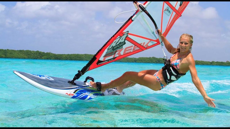 Kevin Pritchard, Oda Johanne and Starboard Team on Ho'okipa, Maui Hawaii