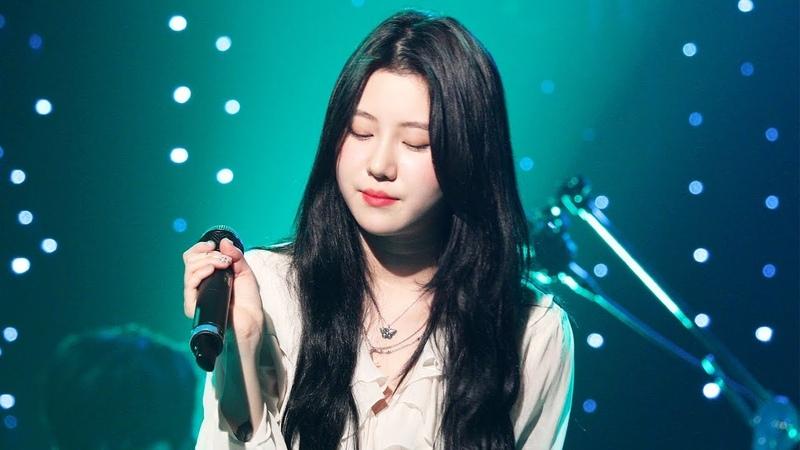 190216 백예린 Baek Yerin Full ver La La La Love Song Bunny 외 10곡 롤링홀24주년 4K 직캠 by 비몽