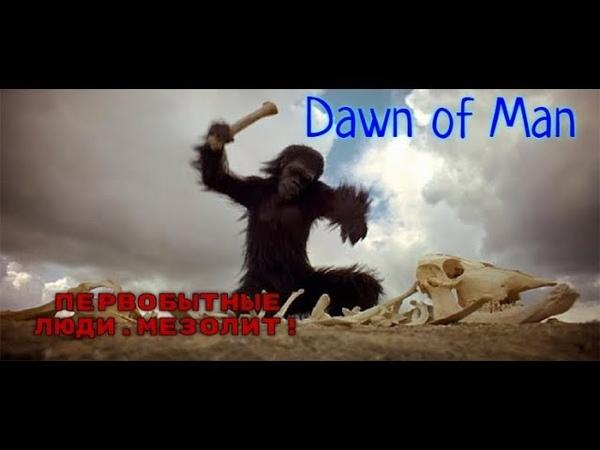 СТРИМ 2 Dawn of Man ПЕРВОБЫТНЫЕ ЛЮДИ МЕЗОЛИТ