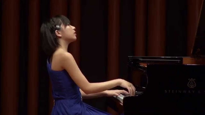 W.A.Mozart Sonata No.4 in E flat major K.282Yukine Kuroki(pf) The Yasuko Fukuda Audition 2015