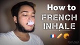 How to French Inhale Vape Tricks
