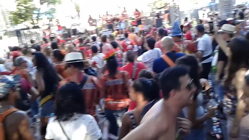 Pré Carnaval de BH Odoyá com Baianas Ozadas e Bloco Faraó - www.fervecao.com