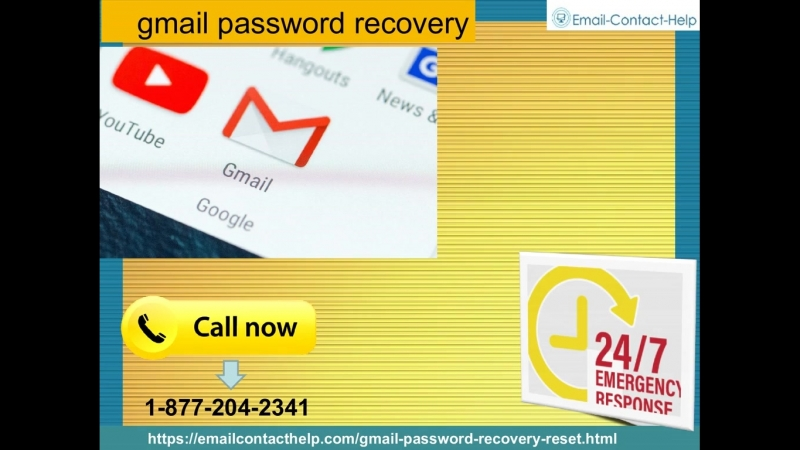 Encountering important Issues? Defeat them with Gmail password recovery 1-877-204-2341