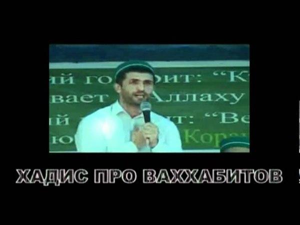 Хадис про ваххабитов Ахмад Абдурашидов
