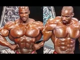 When Ronnie Coleman Was Beaten By Flex Wheeler - Ronnie Coleman's Best Shape Before the Bubble Gut
