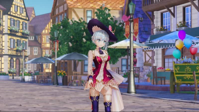 NS\PS4 - Nelke the Legendary Alchemists: Ateliers of the New World Art Screenshot Portfolio