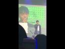 VK 180829 JINLONGGUO KIM YONGGUK Talk @ The 1st fanmeeting