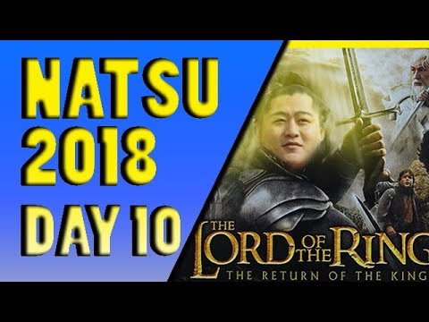SUMO Natsu Basho 2018 Day 10 May 22nd Makuuchi ALL BOUTS