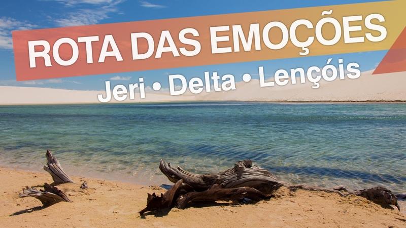 3em3 Rota das Emoções - Brasil Jericoacoara - Delta do Parnaíba - Lençóis Maranhenses