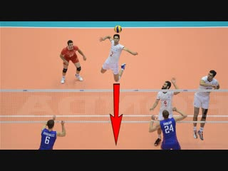 TOP 30 ATTACK ON AN EMPTY VOLLEYBALL NET (Without Block)