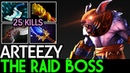Arteezy [Ursa] The Raid Boss 25 Kills | Rampage Game 7.18 Dota 2