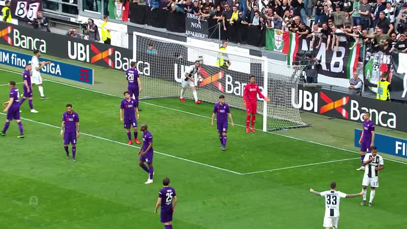 Ювентус - Фиорентина. Juventus - Fiorentina. Juventus Clinch 8th Consecutive Scuddeto - Serie A