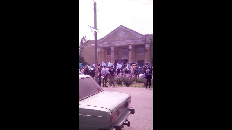 митинг кримських татар