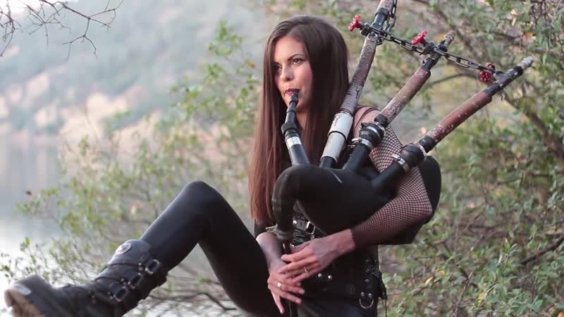Shipping Up To Boston Enter Sandman - Bagpipe Cover (Goddesses of Bagpipe x The Snake Charmer)