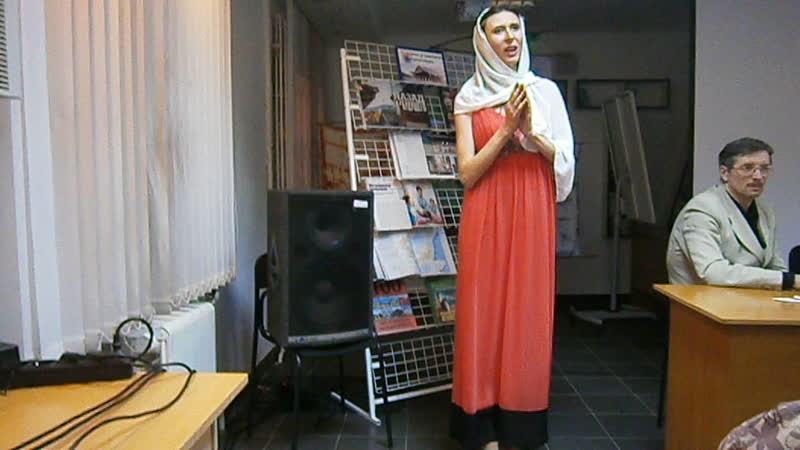 Презентация 26 сборника ЛИТО Прикосновение, библиотека Некрасова. Шуберт Ave Maria, исполняет Екатерина Фомичева.