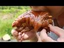 老仙味食:这才是真正的美味猪蹄,看吃相就知道有多好吃了