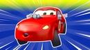 Авто Патруль - Автомобильный патруль и гоночная машинка - детский мультфильм
