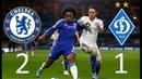 Челси - Динамо Киев 2:1 Видео обзор голов матча 05.11.2015 Chelsea vs Dynamo Kiev