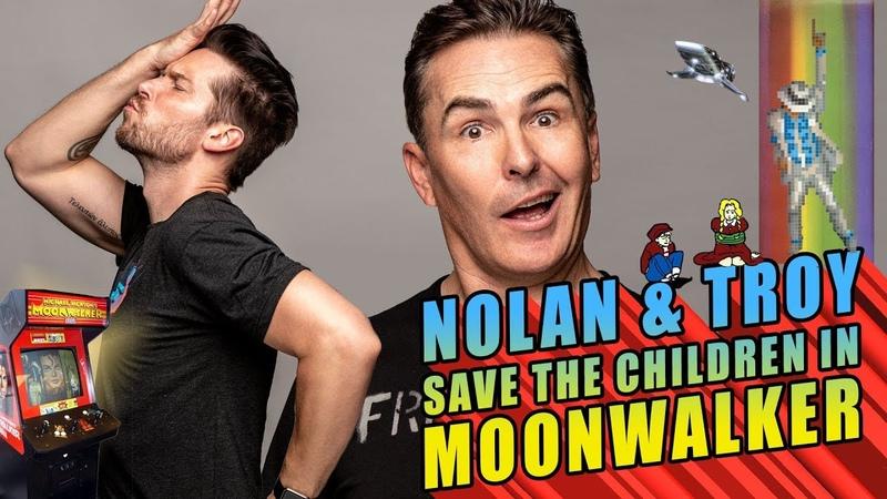 Nolan Troy Save the Kids in Michael Jackson's Moonwalker