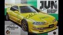 Обзор JUN Honda Prelude Si VTEC Aoshima 1 24 сборные модели