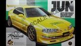 Обзор JUN Honda Prelude Si VTEC Aoshima 124 (сборные модели)