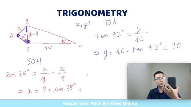 [Trigonometry 3-3] Luyện Tập Thêm Về Bài Tập Tìm Cạnh Trong Tam Giác
