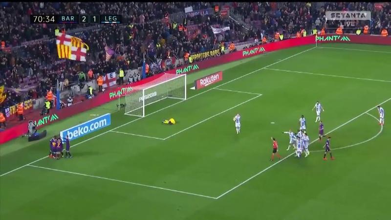 Gol De Suarez - Barcelona 2 x 1 Leganes - La Liga 20012019 HD