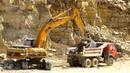 Тюшевский каменный карьер, экскаватор JCB JS330