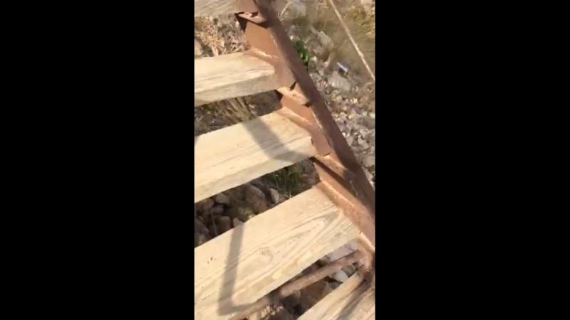Вот Видео где я забирался на гору