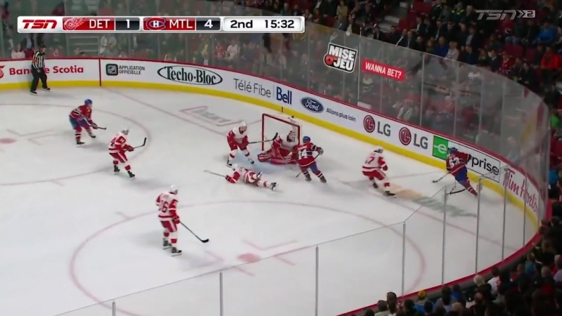 Detroit Red Wings vs Montreal Canadiens Oct 15 2018 Game Highlights NHL 18 19 Обзор матча
