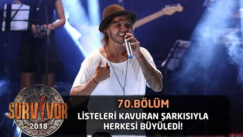 Murat Ceylan kendi şarkısıyla sahnede... | 70.Bölüm | Survivor 2018