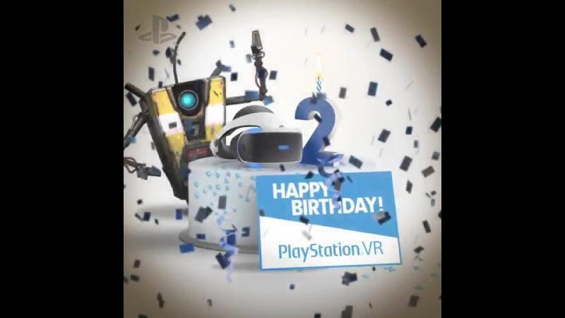 Поздравление к двухлетию PlayStation VR от Gearbox Software [1]